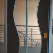 szafa dwudrzwiowa, drzwi przesuwne łączone
