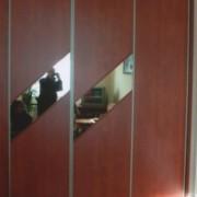 szafa we wnęce, drzwi przesuwne, łączone