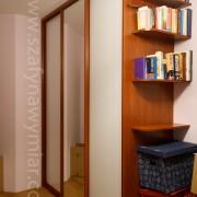 szafa z drzwiami łączonymi, lustro i lacobel