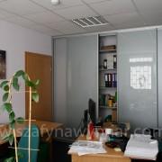szafa biurowa, na dokumenty, drzwi przesuwne z lacobelu