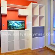 szafki i półki, drzwiczki na kliki, meble biurowe