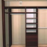 szafa wnękowa, półki, szuflady