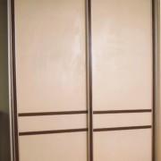 szafa wolnostojąca, drzwi przesuwne z płyty