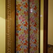 szafa z drzwiami przesuwnymi, fototapeta