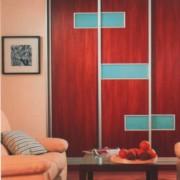 szafa wnękowa, drzwi przesuwne, płyta łączona z lacobelem