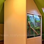 płyta MDF lakierowana na wysoki połysk, szuflady, zabudowa terrarium